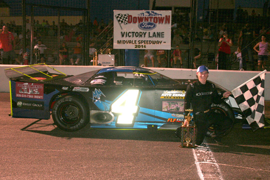 Mid-Season Champions Crowned At Midvale<br>Main Event Downtown Ford 100 Coming Thursday