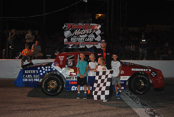 Smiths, Bailey, Pringle, Schweitzer, Buckey, and Lawson find Victory Lane!